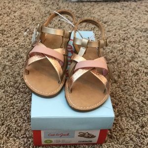 Cat and Jack Toddler Girl Sandals